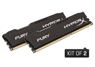 8GB 1866MHz DDR3L CL11 DIMM 1.35V HyperX FURY Black(PC3-14900)